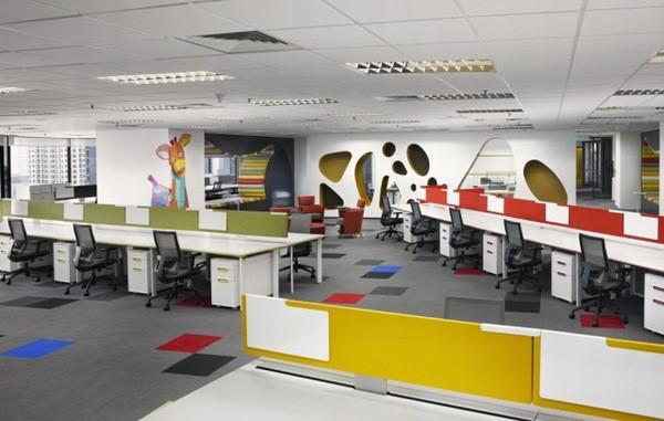Cách chọn bàn làm việc vách ngăn cho văn phòng - 1